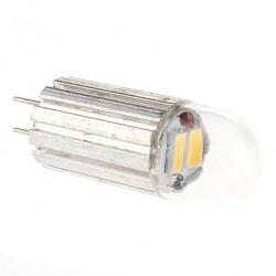 Bombilla LED Conector G4, Vertical de 2w a 12V de corriente, 3300ºK Luz Blanca Cálida