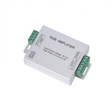 Amplificador Señal 12V/24V Tiras Led RGB Multicolor SMD5050 3*4A
