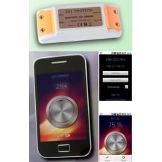Controlador Dimmer Bluetooh PWM Iluminación Led 12V-24V 5A se regula mediante Smartphone ó Tablet aplicación gratuita