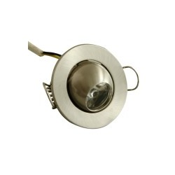 Downlight Led 1W Foco Ajustable Redondo Decoración Luz Blanco Puro