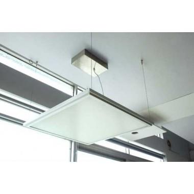 Kit colgadores suspensión de cables de acero para colgar paneles led del techo o cualquier superficie