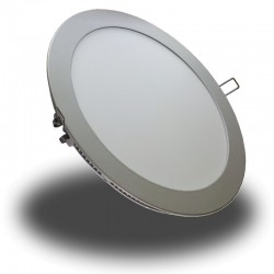 Downlight LED Samsung 22W Panel Redondo Ultrafino ideal Cocina, Despacho, Salon, Oficina, Negocio, Clínica..