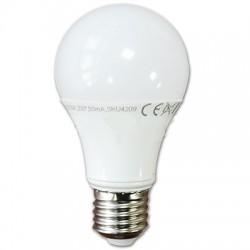 Bombilla LED 10w Luz Fria +800 Lumens Rosca E27 Modelo A60 Termoplastico Led Epistar SMD5630