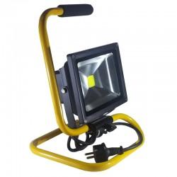Foco Led COB 20w Proyector Profesional Móvil con soporte y asa de mano transportable