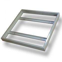 Marco Exterior Panel Led 60x60cm Bastidor de Superficie para instalacion directa en techo