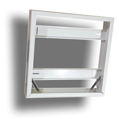 Marco Exterior Panel Led 30x30cm Bastidor de Superficie para instalacion directa en techo