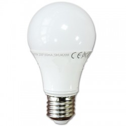 Bombilla LED 10w Luz Natural 4500ºK, +800 Lumens Rosca E27 Termoplastico Led Epistar SMD5630