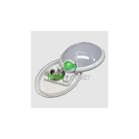 Plafon Superficie Downlight con Sensor Movimiento, Luz de techo sensor microondas para bombillas Led de rosca E27