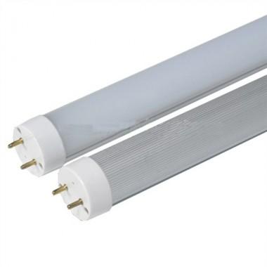 Tubo Led T8 90cm 15W Base G13, Aluminio y difusor Mate, Luz Blanco Frío 6000ºK