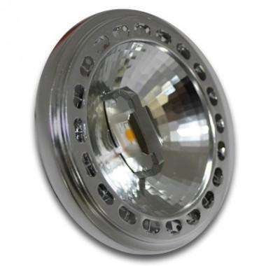 Bombilla Foco SHARP LED, Conector AR111, G53 de 15W a 12V, Luz Cálida