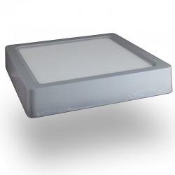 Downlight LED 22W Plafon Techo Superficie +1800Lm Panel Cuadrado 6000ºK Luz Blanca