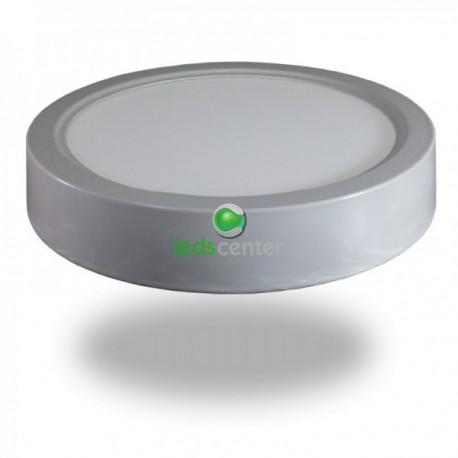 Downlight LED 18W Plafon Techo Superficie +1800Lm Panel Circular 6000ºK Luz Blanca