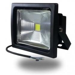 Proyector Led 30w Premium 2400Lm Luz Blanca 6000ºK Led Profesional Bridgelux IP65 Uso Exterior