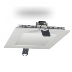 Downlight SAMSUNG LED CUADRADO 8W BLANCO Luz Cálida