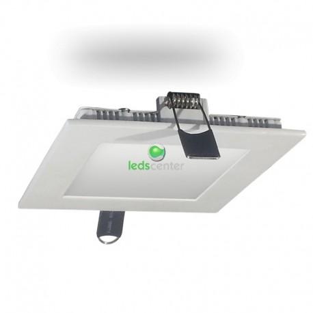 Downlight SAMSUNG LED CUADRADO 8W BLANCO Luz Cálida