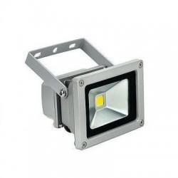 Foco Led COB GRIS 10w Luz Fría Proyector IP65