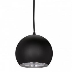 Lámpara de LEDs Suspendida Bola Negro 12W 1100Lm 30.000H - Imagen 1