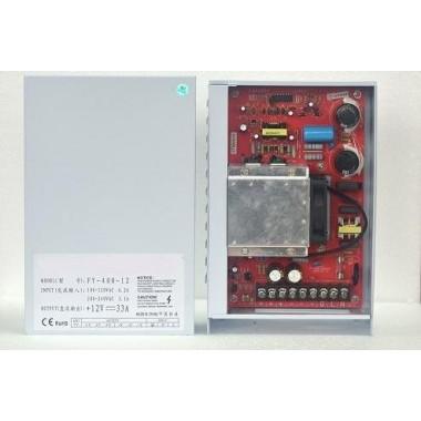 Fuente Alimentación, Transformador, Alimentador 400w 12v 33A protección IP45