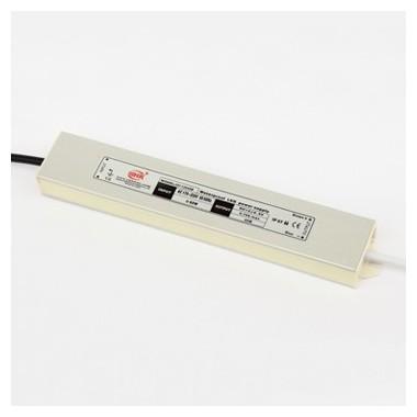 Fuente Alimentación, Transformador, Alimentador 45w 12v 3.8A metal exteriores IP65