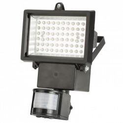 Proyector de LEDs Solar 4W 300Lm 3,7V 2200mAH con Detector de Proximidad