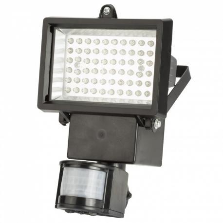 Proyector de LEDs Solar 4W 300Lm 3,7V 2200mAH con Detector de Proximidad - Imagen 1