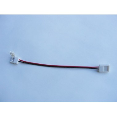 Conector flexible unión tiras Led monocolor SMD3528 Pin Click
