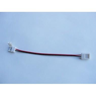 Conector flexible unión tiras Led monocolor SMD3528 Pin Click