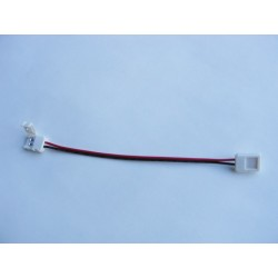 Conector flexible unión tiras Led Monocolor SMD5050 Pin Click