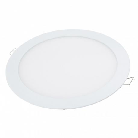 Placa LEDs Circular RGB 240mm 10W 24VDC Driver/Controlador Centralizado - Imagen 1