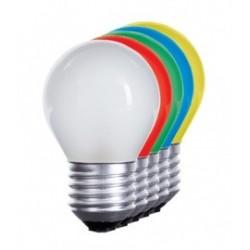 Bombilla LED 1w Azul 80 Lm Rosca Gruesa E27 (220V) Decorativa