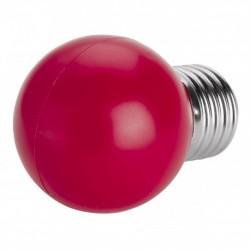 Bombilla LED 1w ROJA 80 Lm Rosca Gruesa E27 (220V) Decorativa
