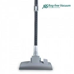 Aspirador sin bolsa X6mop Vacuum más potente, rápido y eficaz que las aspiradoras convencionales.