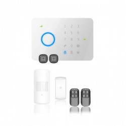 Kit Alarma Inalámbrica Táctil GSM de Seguridad Chuango G5 Negocio