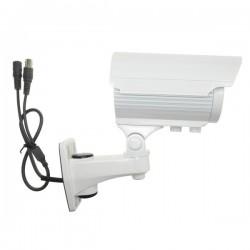 Cámara Videovigilancia Compacta Camara COMPACTA 2,8-12mm 800L IR BLANCA Uso Exterior IP65