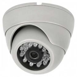 Cámara Video Vigilancia Domo 3,6mm 800L IR BLANCA Serie ECO Uso Doméstico y Negocio