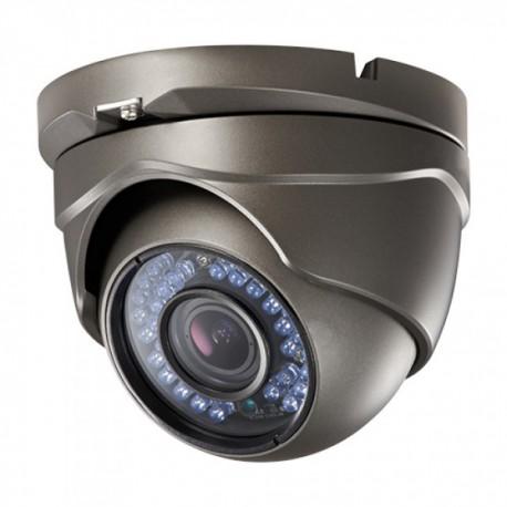 Cámara Vigilancia Domo Antivandálica  3,6mm 960L IP66 IR NEGRA Uso Doméstico y Negocio. Para Interior o Exterior.