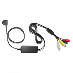 Cámara Video Oculta Ultraminiatura 420Líneas, 3.6mm cableada  alta calidad, micrófono incorporado.