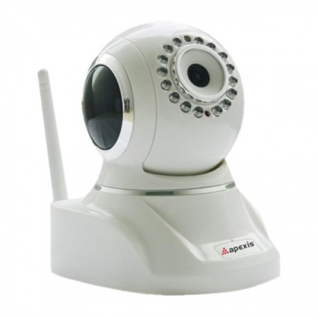 Cámara Video Vigilancia IP WIFI Ethernet VGA 3.6mm IR PTZ Alarmas Movimiento Remoto