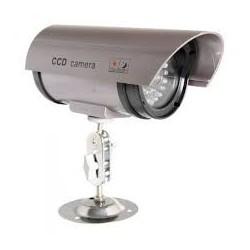 Cámara Simulada de Video Vigilancia para uso Exterior con led
