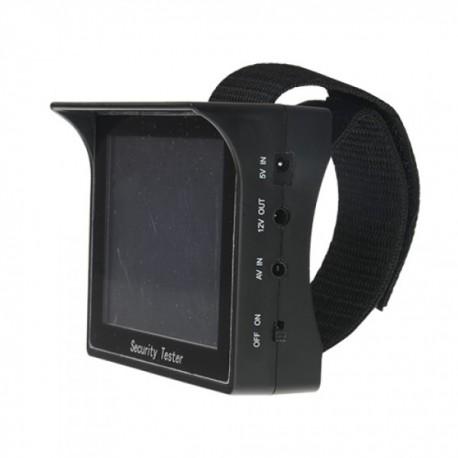 """Comprobador Tester Imágenes Video Circuito Cerrado de Televisión CCTV con pantalla 3.5"""" Incluye muñequera"""