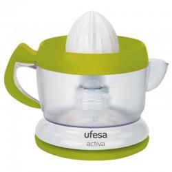 Exprimidor de Zumos UFESA con jarra extraíble  40W, capacidad 0.6Litros