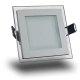 Downlight LED 6W Cristal Luz Fría 360Lm Panel Led Cuadrado 6000ºK