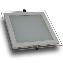 Downlight LED 18W Cristal Luz Natural 1100Lm Panel Led Cuadrado 4500ºK