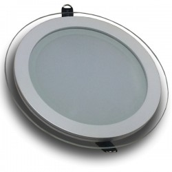 Downlight LED 18W Cristal Luz Cálida 1050Lm Panel Led Redondo 3000ºK