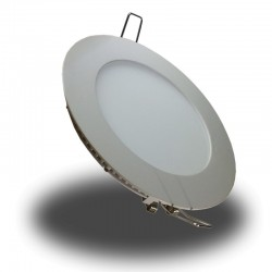 Downlight LED 6W 350Lm Luz Día 4500ºK Ultrafino Redondo Incluye Driver 12V