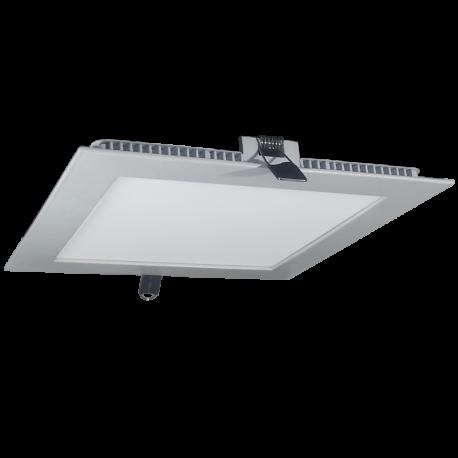 Downlight LED 18W Ultrafino +1330Lm Cuadrado Empotrable Luz Día 4500ºK