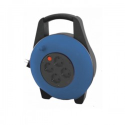 Enrollacable Electrico 4 Tomas 10mts Prot. Termico