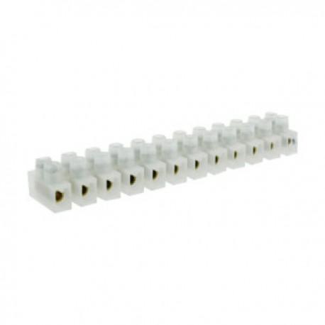 Regleta Conexión Clema 12 Contactos 30Amp Cable 16mm