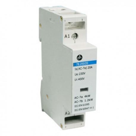 Contactor 20Amp. 230V 2 contactos abiertos