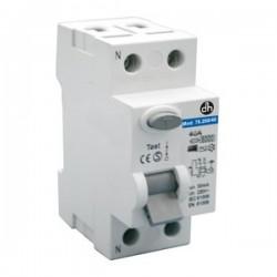 Interruptor Diferencial 1P+N 25A 0.03A 6KA Clase